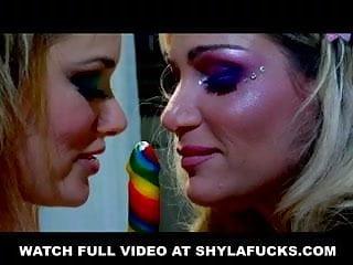 Exposed faith pussy Shyla plays with tyler faith