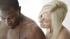 blacked cheating blonde wife Kate England's first bbc