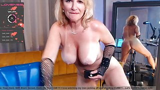 Blonde MILF Gets Pounded by Sex Machine