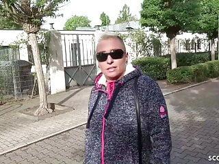 German tranny mandy German scout - mom mandy deep anal sex at street casting