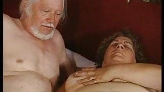 grandma and grandpa - both masturbating