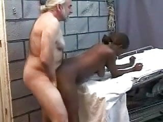 Old men fucking grannies - Old men fucking a young black wife