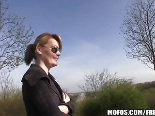 Paid to go naked Blonde czech with perfect tits is paid to flash and fuck