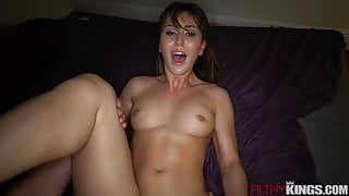 Hot Step Sister Finishes What She Started with Bro's Dick