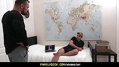FamilyDick - Bear Daddy Fucks Teen In His Bedrom