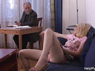 Pay wife to fuck Old hubby pays him to fuck his young wife
