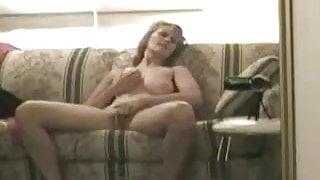 Woman records masturbating to orgasm 2