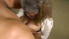 Latin Granny Brenda Titfucked