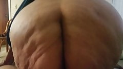 My 82 year old granny riding my dick