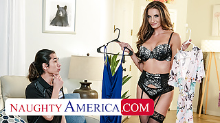 Naughty America - Silvia Saige hasn't had cock in a while