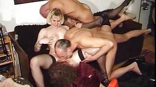 Kinky Austrian Anal Orgy