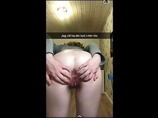 Thai girl begs for sex - Swedish girl begs for cock in ass on snapchat