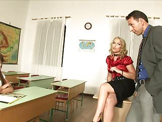 Fuck hot mr.vegas - Horny teacher blonde and randy dude fuck hot schoolgirl in class