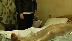 BBW Mistress Lydia Mummifies Her Slave
