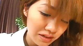 Maid Aizawa pleasing her master