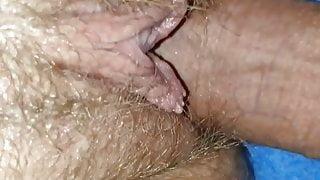 Quick pussy creampie premature cum