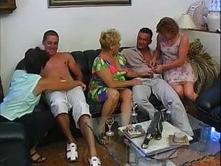Group fucking of negro aunt German horny aunts