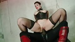 British Paige fetish fucking big black cock