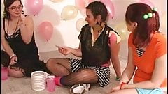 Lesbian Amateur Girls play Truth or Dare! (very hot orgy!!!)