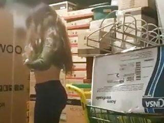 Hardcore public slut Boss public fuckin teen worker slut