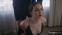 Deeper. Manuel mentors sexy Freya, an aspiring dominatrix