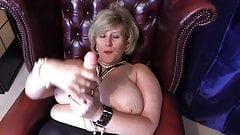 English Busty Gilf Teasing Hard cock in britain