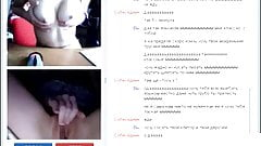 Two girls in free chat.