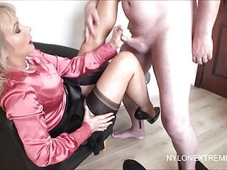 Cumming in Hose Fetisch