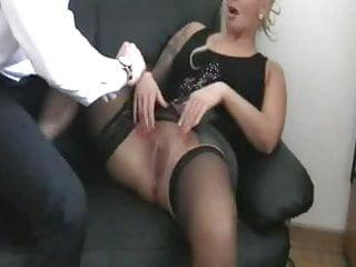 German female masturbation video - Fisting my german female bitch boss till she squirts