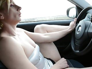 Sluts with big clits - Slut in car