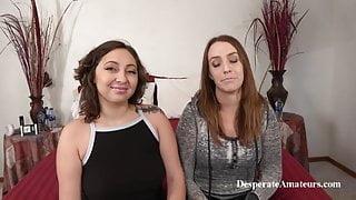 Casting Mia and Alysha Adams Desperate Amateurs