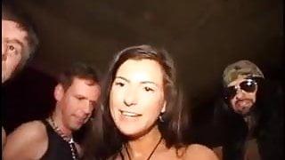 Amazing German Milf Gangbang