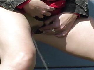 Girls pee on man British girls pee part 9