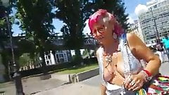Granny Mary braless2