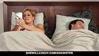 SheWillCheat - Slut Wife Finds First BBC On Social Media