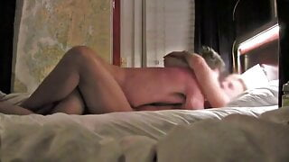 Handsome hunks fucking in bed