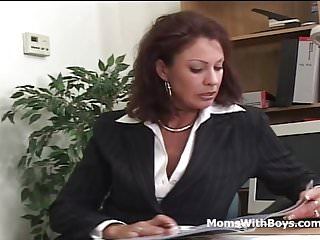 Vanessa trench fucks - Mature office fuck with vanessa videl