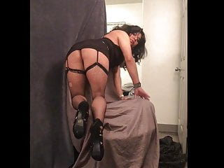 Naked sexy dress up Slutty rachelle ass up in sexy dress and thong