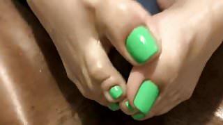 Lime Toes FJ
