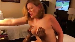 Mature housewife gets fucked hard by bbc and cuck watches