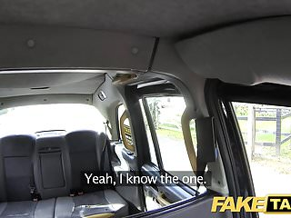 Sex on tv uk Fake taxi hot tv personality takes it hard in london cab