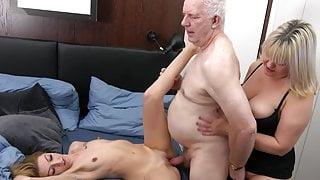 B-Grandpa Threesome