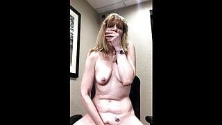 Public – Paulina Cumming In the Office Before Boss Returns