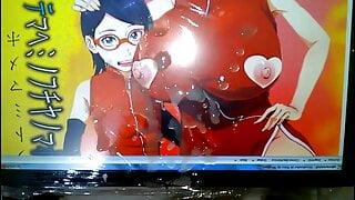 Hentai Gay Cum Tribute to Sakura Uchiha and Sarada Uchiha
