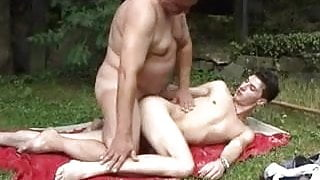 Hot Step Dad with younger