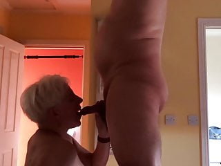 Pushed blow job cum shot - Blow job and cum shot