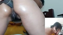 Creamy Pussy Drizzle From Latin Cam Girl