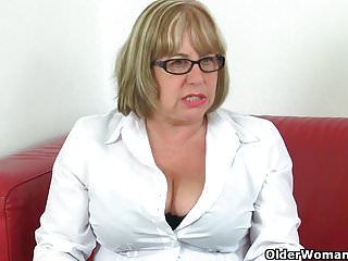 Hyperactive sexual desire - British granny trisha cant control her sexual desire