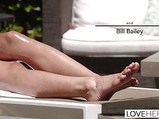 Marlena foot sex Loveherfeet - blackmailing my husbands friend for foot sex