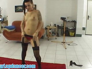 Ariel rebel no condom - Rebel chick doing gorgeous lapdance